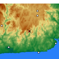 Nearby Forecast Locations - Combienbar - Map