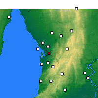 Nearby Forecast Locations - Parafield - Map