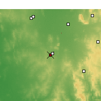 Nearby Forecast Locations - Temora - Map