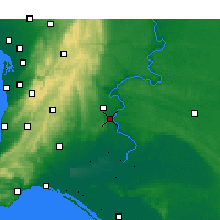 Nearby Forecast Locations - Murray Bridge - Map