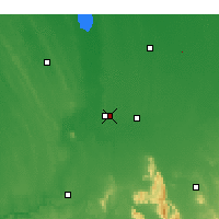 Nearby Forecast Locations - Horsham - Map