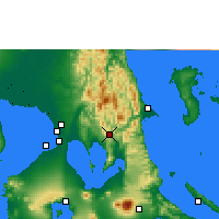 Nearby Forecast Locations - Tanay - Map