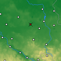 Nearby Forecast Locations - Senftenberg - Map