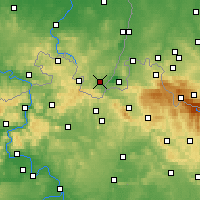 Nearby Forecast Locations - Zittau - Map