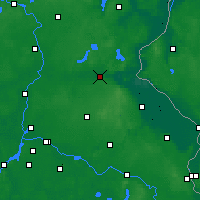 Nearby Forecast Locations - Eberswalde - Map