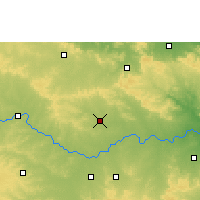 Nearby Forecast Locations - Bhainsa - Map