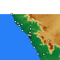 Nearby Forecast Locations - Panoor - Map