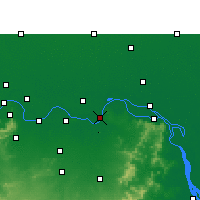 Nearby Forecast Locations - Kahalgaon - Map