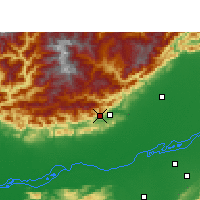 Nearby Forecast Locations - Itanagar - Map