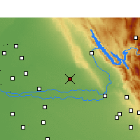 Nearby Forecast Locations - Sikanderpur - Map