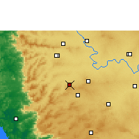 Nearby Forecast Locations - Nipani - Map