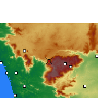 Nearby Forecast Locations - O' Valley - Map