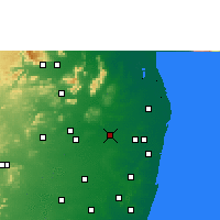 Nearby Forecast Locations - Tiruvallur - Map