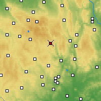 Nearby Forecast Locations - Bystřice nad Pernštejnem - Map