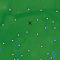 Nearby Forecast Locations - Gołańcz - Map