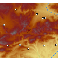 Nearby Forecast Locations - Doğanşehir - Map