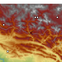 Nearby Forecast Locations - Çukurca - Map