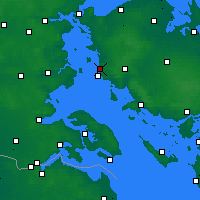 Nearby Forecast Locations - Assens - Map