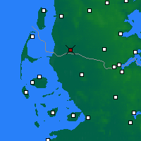 Nearby Forecast Locations - Tønder - Map