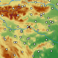 Nearby Forecast Locations - Trbovlje - Map