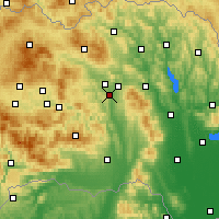 Nearby Forecast Locations - Prešov - Map