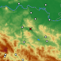 Nearby Forecast Locations - Gračanica - Map