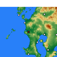 Nearby Forecast Locations - Satsumasendai - Map