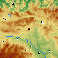 Nearby Forecast Locations - Estella-Lizarra - Map