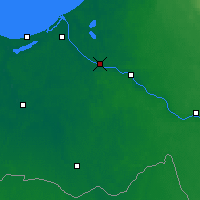 Nearby Forecast Locations - Salaspils - Map