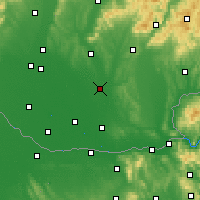 Nearby Forecast Locations - Šurany - Map