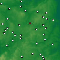 Nearby Forecast Locations - Wigston Magna - Map