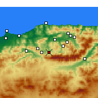 Nearby Forecast Locations - Boghni - Map