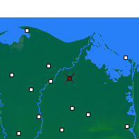 Nearby Forecast Locations - Dikirnis - Map