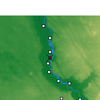 Nearby Forecast Locations - Deir Mawas - Map