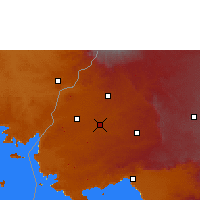 Nearby Forecast Locations - Mumias - Map
