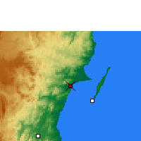 Nearby Forecast Locations - Soanierana Ivongo - Map
