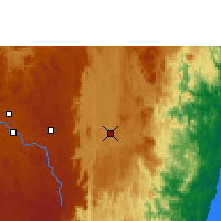Nearby Forecast Locations - Moramanga - Map
