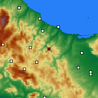 Nearby Forecast Locations - Casacalenda - Map