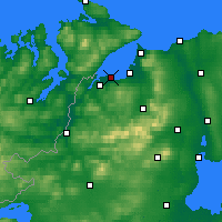 Nearby Forecast Locations - Derry - Map