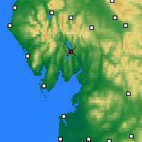 Nearby Forecast Locations - Windermere - Map
