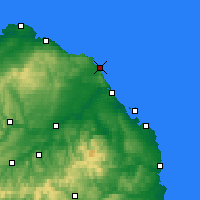 Nearby Forecast Locations - Eyemouth - Map
