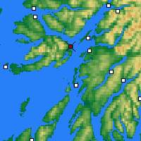 Nearby Forecast Locations - Isle of Mull - Map