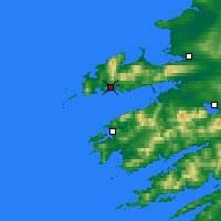 Nearby Forecast Locations - Dingle - Map