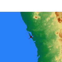 Nearby Forecast Locations - Rabigh - Map