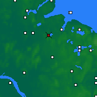 Nearby Forecast Locations - Westensee - Map