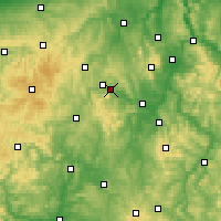 Nearby Forecast Locations - Edersee - Map