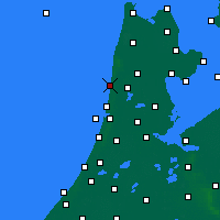 Nearby Forecast Locations - Egmond aan Zee - Map