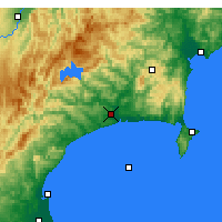 Nearby Forecast Locations - Wairoa - Map
