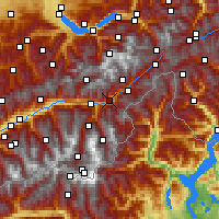 Nearby Forecast Locations - Brig - Map
