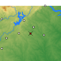 Nearby Forecast Locations - Winder - Map